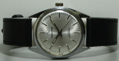 Vintage Timestar Winding Wrist Watch Old Used s884 Antique