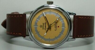 Vintage Titoni Airmaster Automatic Swiss Mens Old used k474 Antique Watch