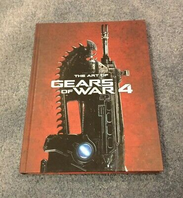 The Art Of Gears Of War Hardcover Book