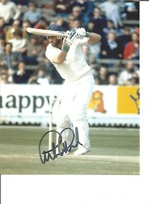 Cricket Autograph Graham Gooch England Signed 10x8 inch Colour Photograph JM346