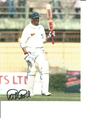 Cricket Autograph Graham Gooch England Signed 10x8 inch Colour Photograph JM347