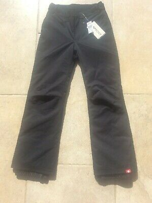 BNWT Womens Small Black ROXY Ski Pants Trousers Waterproof & Breathable RRP £75