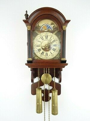 Friesian Dutch REPAIR Wall Clock 8 day Vintage (Zaanse Zaandam Warmink era)