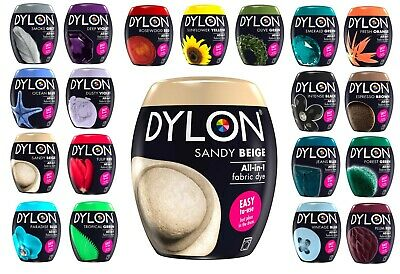 22 Colors 200g Machine Dye Fabric Dylon Machine Fabric Dye Cloth Wash Brand New