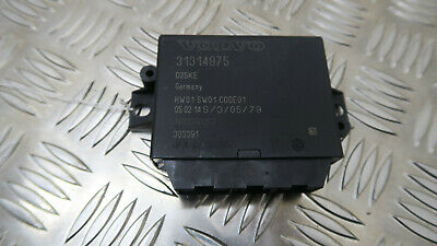 2014 Volvo V40 Parking Control Unit 31314975 Ref2806