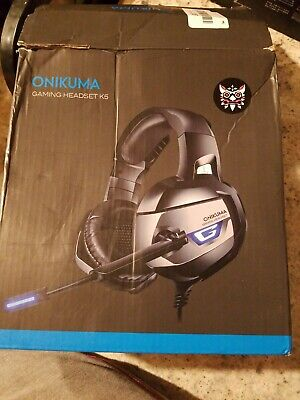 ONIKUMA K5 Stereo Gaming Headsets Headphones For PS4 New Xbox One PC with Mic 🌎