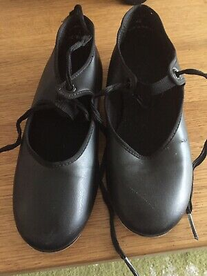 Black Girls Tap Shoes Size 1