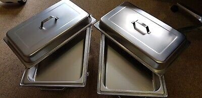 Food Warmers 2 x Chafing Dishes plus fuel pots