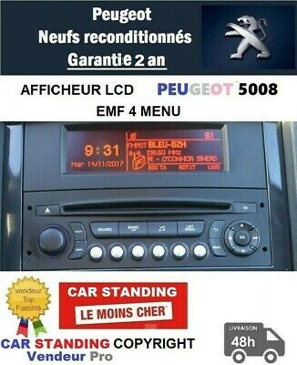 Afficheur Peugeot 5008,3008 Screen Peugeot 5008,3008,Display Lcd Peugeot  5008
