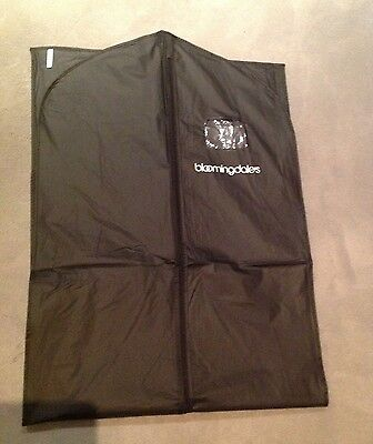BLOOMINGDALE'S Logo Zipper Garment Suit Dress Travel Storage Bag Carrier 54x24