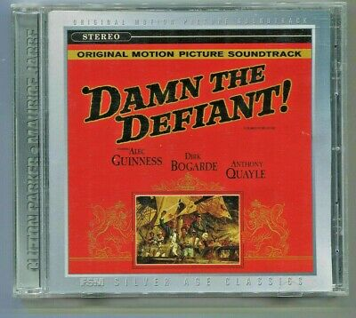 DAMN THE DEFIANT! Clifton Parker + BEHOLD A PALE HORSE CD Music by Maurice Jarre