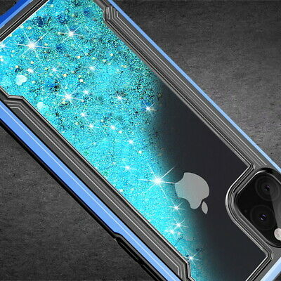 Dynamic Liquid Bling Plating Soft Case Cover For iPhone 11 Pro Max XR XS X 8 7 6