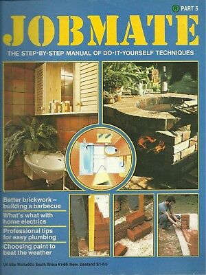 JOBMATE 5 DIY - BRICKWORK ELECTRICS PLUMBING PAINT etc