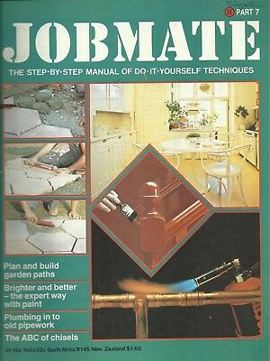 JOBMATE 7 DIY -PATHS WOOD / CHISELS PLUMBING PAINT etc