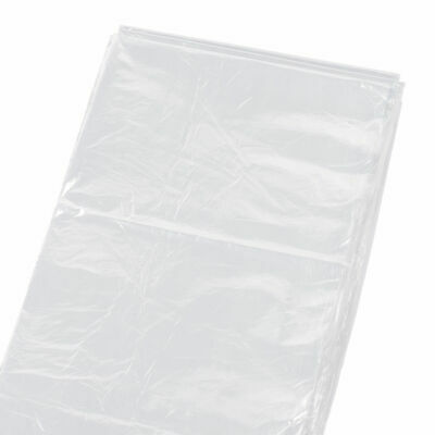 LARGE 3.6M x 2.7M PLASTIC CLEAR POLYTHENE DUST SHEET MASKING PAINTING COVER SALE