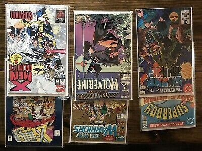 Comic Book Lot Box - 45  Mostly #1''s Comics All Bagged and Boarded!