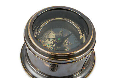 Compass - Drum Nautical Marine Brass Made for royal Navy Office Decor Item