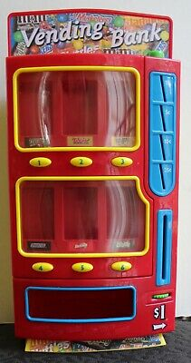 M&Ms  Skittles Snickers Milky Way Twix Mars Candy Vending Bank Machine  2004 NEW