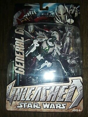 2005 Star Wars Unleashed General Grievous New and Sealed