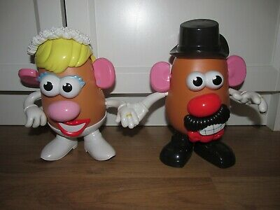 Mr & Mrs Potato Head Wedding Set - Mashly In Love, Playskool / Hasbro RARE