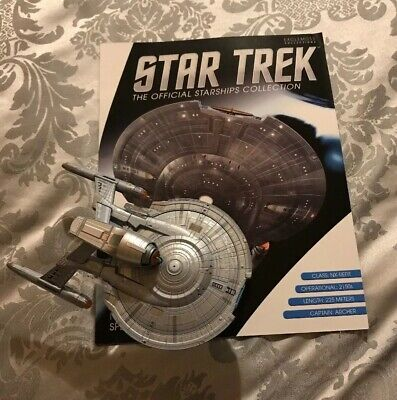 Eaglemoss Star Trek Model & Magazine, SS Enterprise NX-Refit, Special Issue, VGC
