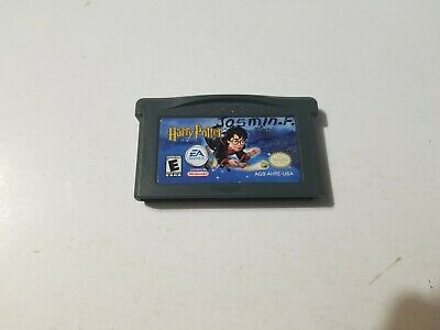 Harry potter and the Philospher's Stone Nintendo GBA Game boy advance tested