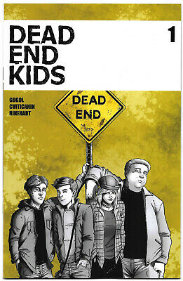Dead End Kids #1 VF 2019 Source Point Press Comics 1st print HTF Sold Out