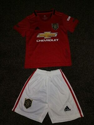 Kids size 10-11 Manchester united home shirt 2019-20