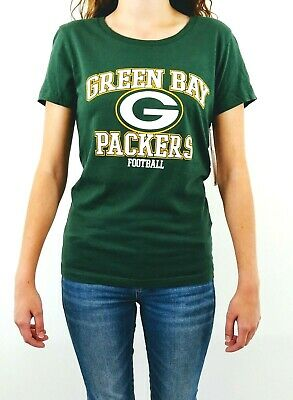 Green Bay Packers Women's T Shirt NFL Team Apparel Short Sleeve Tee Football