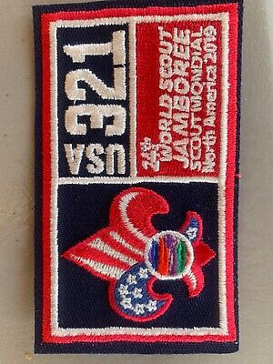 24th World Boy Scout Jamboree 2019 Troop 321 Patch Badge USA Contingent WSJ BSA