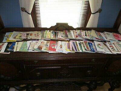 Lot 360+ Used Assorted Greeting Cards Christmas Birthday Vintage Thanks Baby #1
