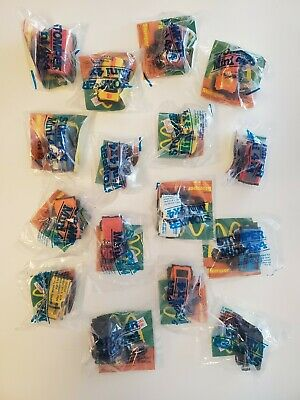 Mcdonald's Schaper Stompers COMPLETE SET of 16 MIP Vintage Happy Meal Premiums
