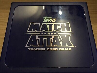 Match Attax 2019/20 Empty Swap Box + 100 Random Cards Inc Limited Mint