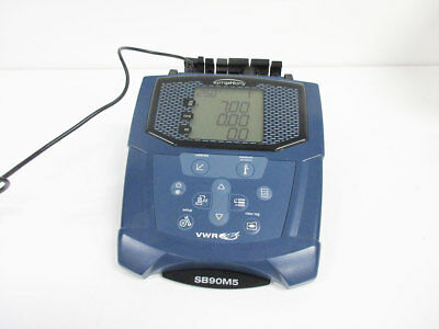 Vwr Sb90M5 Benchtop Symphony Meter With Power Supply