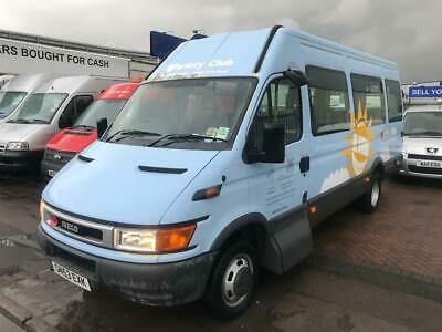 Iveco Minibus Poss Camper 17 Seater Wheelchair Access Lift Low Miles No Vat