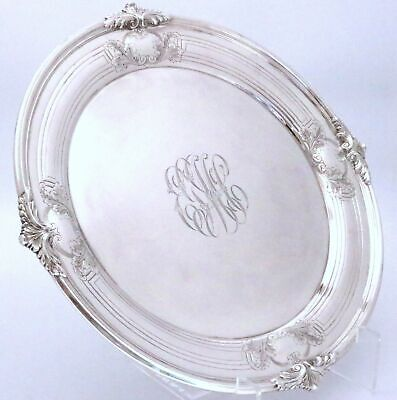 """Frank Smith Sterling Silver Tray 13 1/2""""w"""