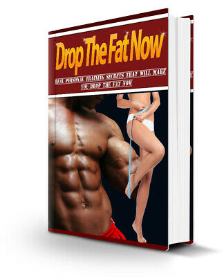 Drop The Fat Now PDF eBook with Private Label Rights PLR