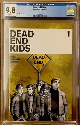 DEAD END KIDS #1 CGC 9.8 SOURCE POINT PRESS 1st PRINT HOT BOOK NM (2019)
