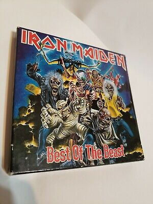 The Best of the Beast by Iron Maiden Case and Booklet 1996 NO CD
