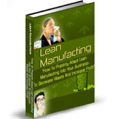 Lean Manufacturing PDF eBook with Private Label Rights PLR