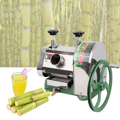 Output Sugar Cane Press Juicer Slow Juices Machine Commercial Extractor Mill New