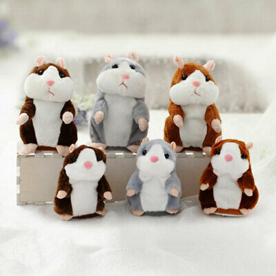 2019 Cute Talking Hamster Nod Mouse Record Mimicry child Plush Toy Xmas Gifts