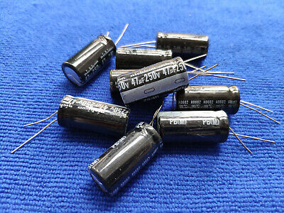 105℃ Radial 10 x 20mm US Stock 20pc Electrolytic Capacitors 2200uF 2200mfd 6.3V