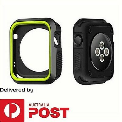 TPU Protect Case For Apple Watch | Size 38mm 42mm | Workout Gear Silicone Cover