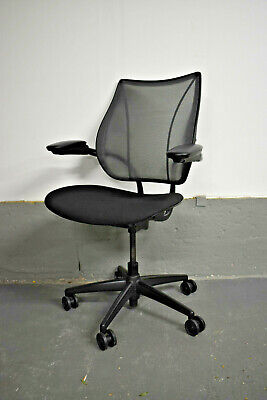 Humanscale Liberty Office Task Chair [Black Fabric + Silver Mesh] 30 Available