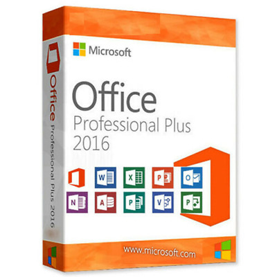 Microsoft Office 2016 Professional plus activation key for 1 PC Full version