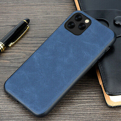 For iPhone 11 Pro Max XR XS 8 7+ Luxury Hybrid Retro Leather Slim TPU Case Cover