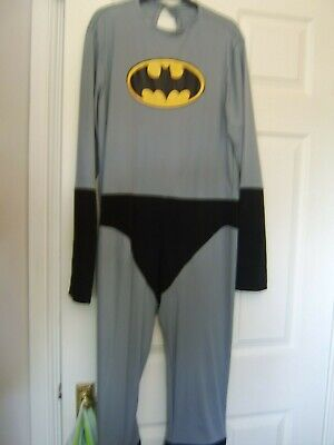 Halloween Batman Adult Dressing Up Outfit Stag Night Size M