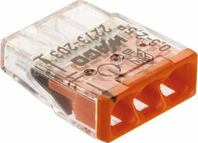 10/AWG WAGO 773 Pluggable 173/Pack Of 10/by Terminal Block 3pos