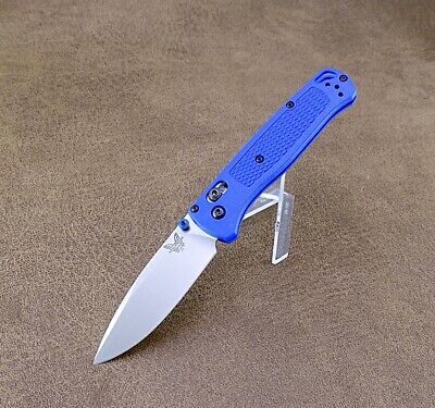 Benchmade Bugout 535 AXIS Lock Knife Blue Handles CPM-S30V Blade - New